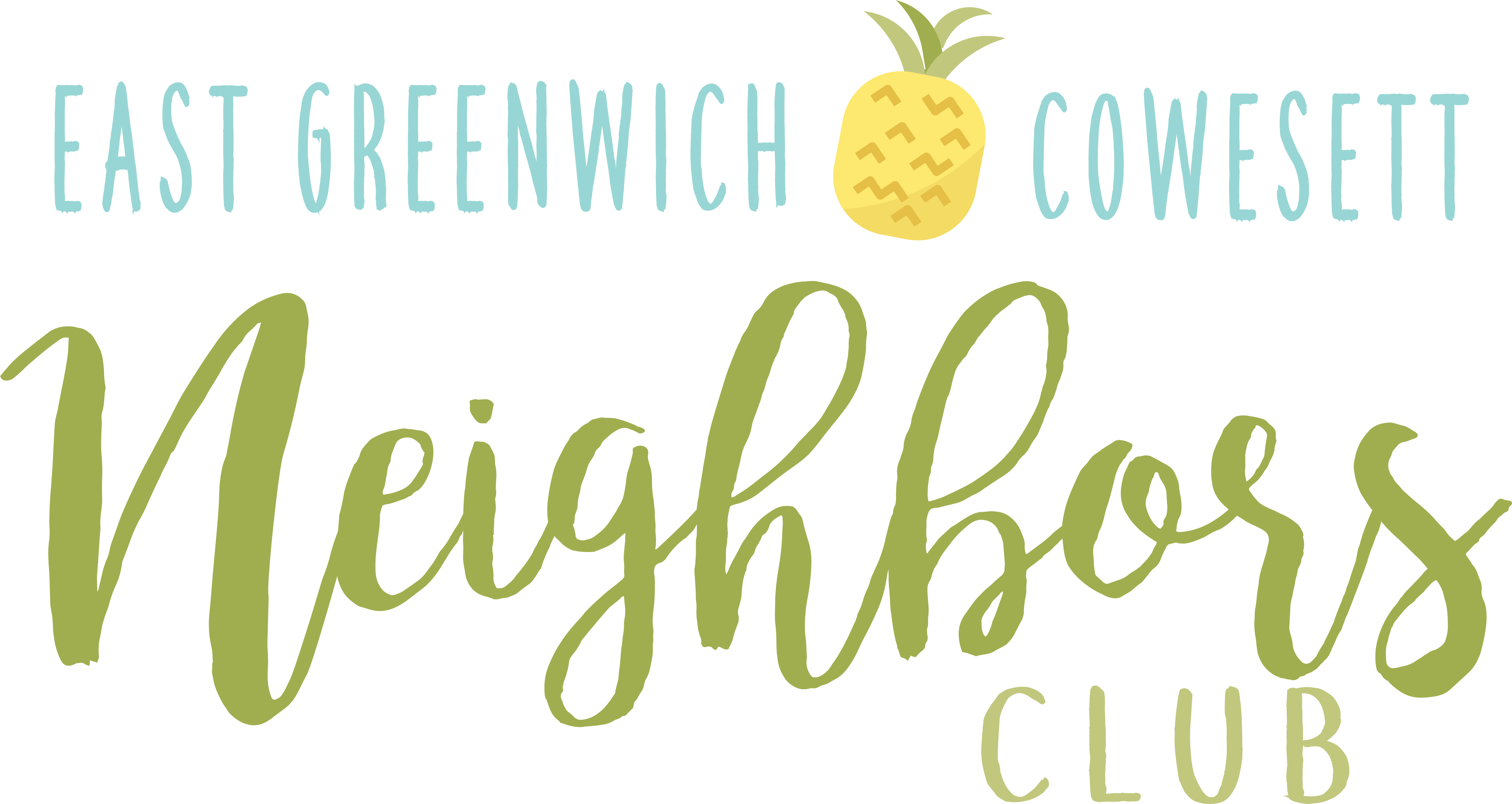 Logo for East Greenwich-Cowesett Neighbors Club